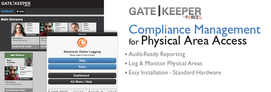 Gatekeeper CIP Compliance Software